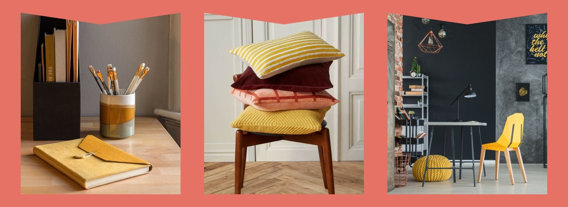 yellow home decor, decorative pillows, grey home decor