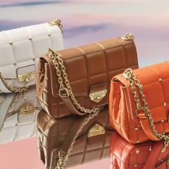 Colourful fancy purses