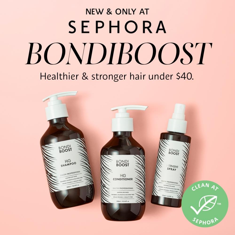 3 bottles of bondiboost from Sephora