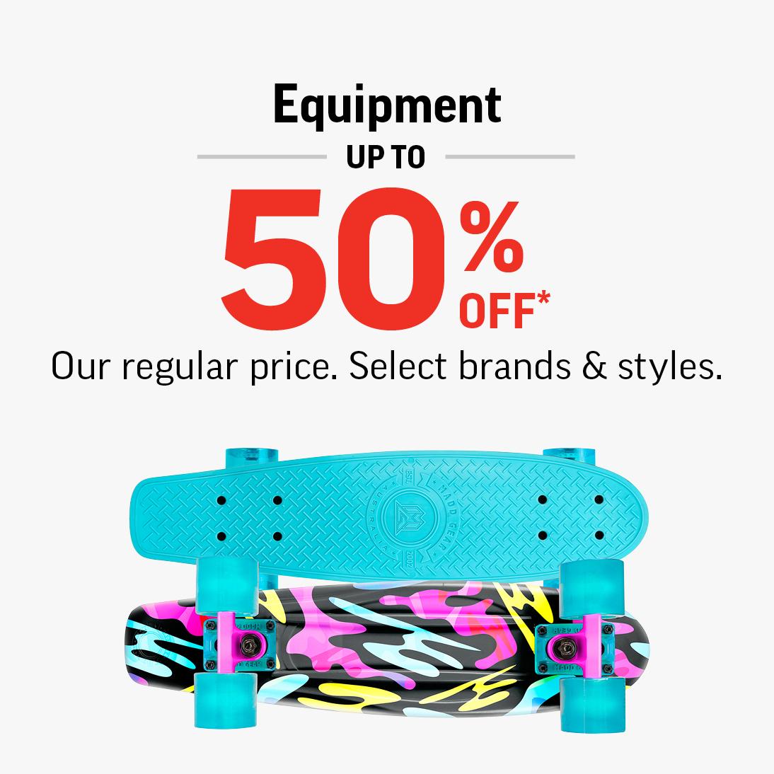 blue patterned skateboard