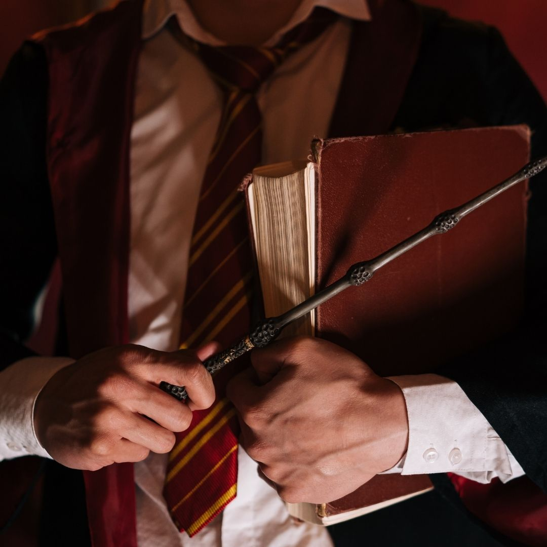 Harry potter-inspired costume